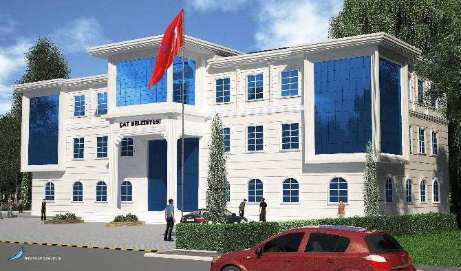 """Başkan Arif Hikmet Kılıç: """"Hizmet Binası Yılsonuna Hazır"""""""