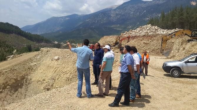Kapıçay Göleti 18 Bin 700 Dekar Tarım Alanını Sulayacak