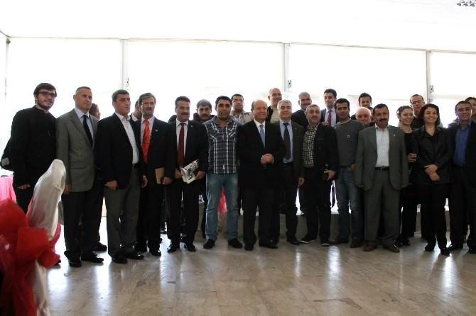 Başkan Özakcan; Demokrasilerde Basın Dördüncü Güçtür