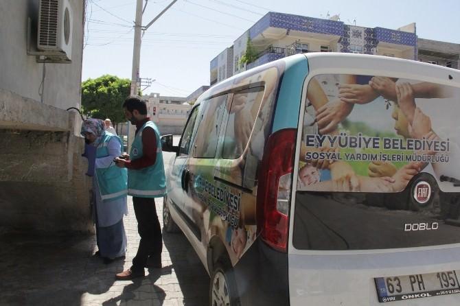 Eyyübiye Belediyesi Fakirlerin Yanında