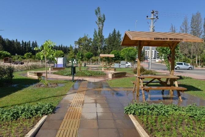 Konyaaltı'nda İki Yeni Park Hizmete Girdi