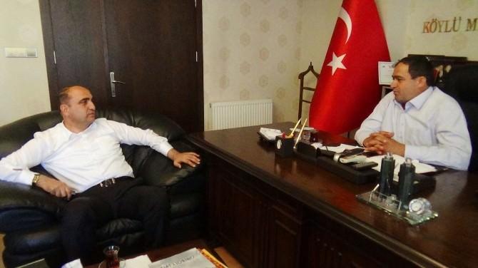 AK Heyetten Başkan Koçak'a Ziyaret