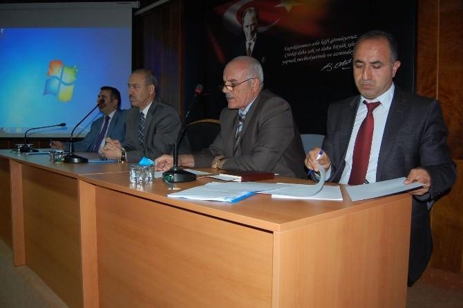 Muş'ta Yatırım Programı Açıklandı