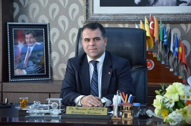 Başkan Aksoy Basın Mensuplarının Bayramını Kutladı
