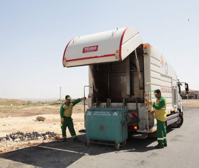 Şahinbey Belediyesi'nden Temiz Konteyner Çalışması
