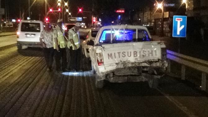 Sakarya D-100'de Zincirleme Trafik Kazası: 5 Yaralı