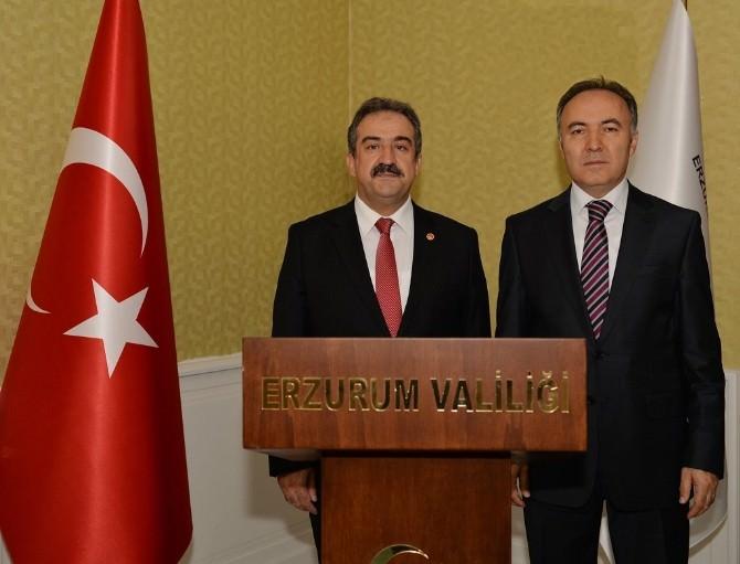 Sayıştay Başkanı Akyel'den Vali Altıparmak'a Ziyaret