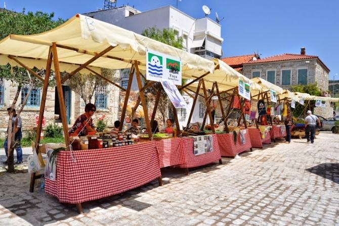 Foça Slow Food Yunanistan'da