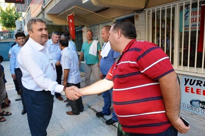 Başkan Çerçi'den Horozköy'e Çıkarma