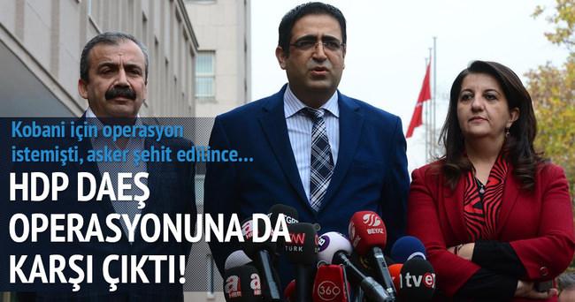 HDP'den IŞİD operasyon yorumu: Zamanlama manidar