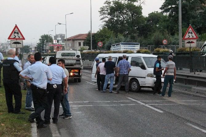 5 Araç Kazaya Karıştı: 3 Yaralı