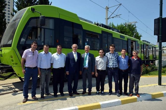 Bursa'da Yerli Vagonlar Raya İndi