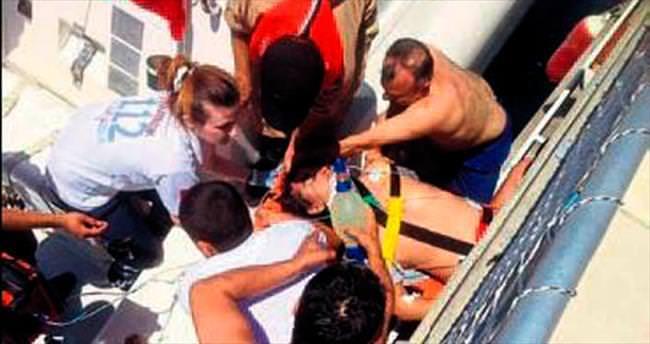 Kiriz geçiren tatilci hayatını kaybetti