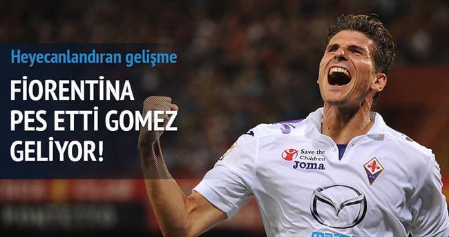 Fiorentina pes etti Gomez geliyor!