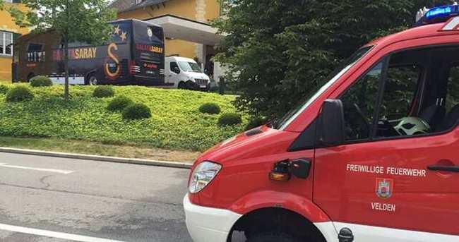 Galatasaray'da ikinci yangın paniği