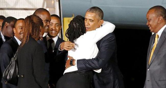 ABD Başkanı Obama Kenya'da coşkuyla karşılandı
