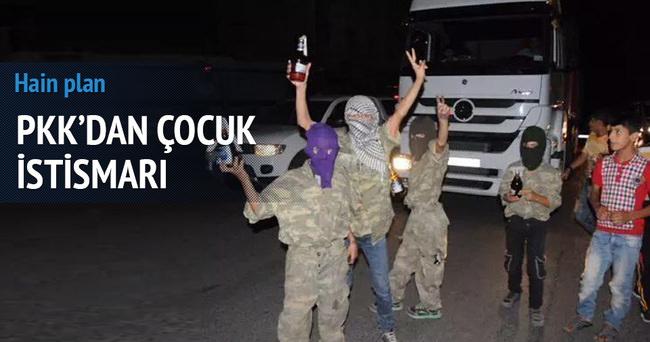 PKK'dan çocuk istismarı!