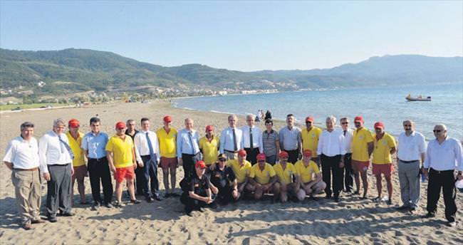 Bursa sahillerine güvenlik takviyesi