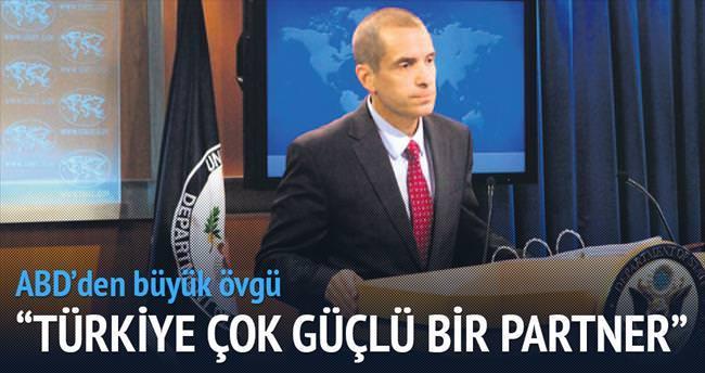 'Türkiye güçlü bir partner'