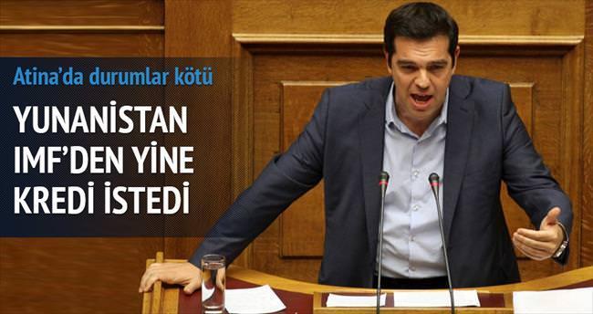 Yunanistan IMF'den kredi istedi