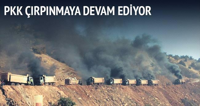 PKK çırpınmaya devam ediyor
