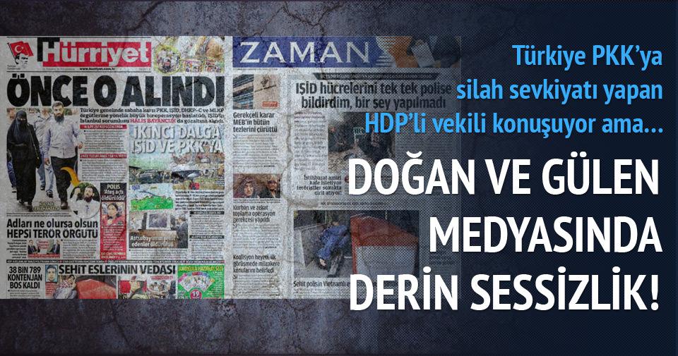 Gülen ve Doğan medyası bu habere sessiz!