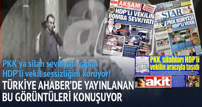 HDP'li vekil PKK'nın kuryesi mi?