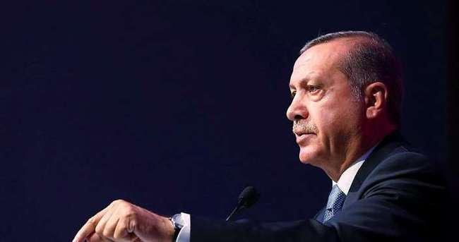 Erdoğan Fuad Masum ile görüştü
