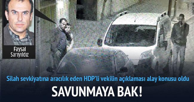 HDP'li vekilin savunmasına bak!