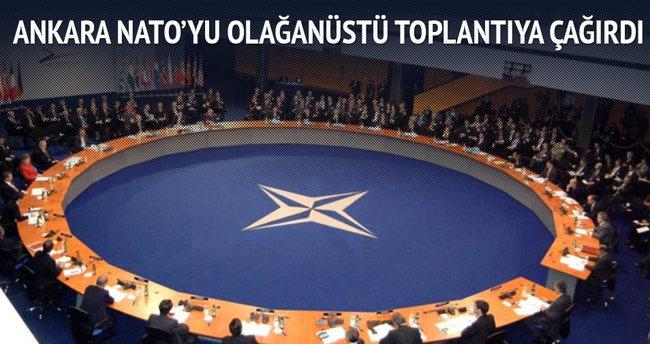 Ankara NATO'yu olağanüstü toplantıya çağırdı