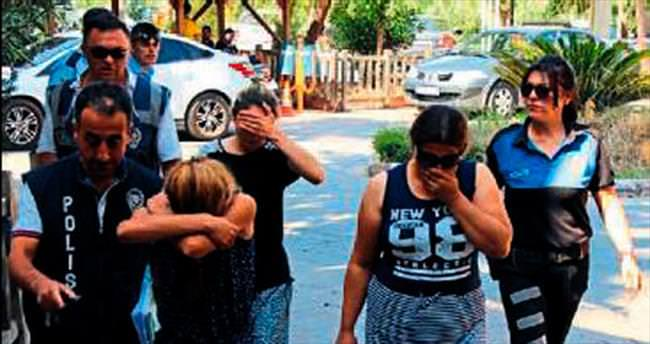 Hırsızlık şüphelisi 3 kadın yakalandı