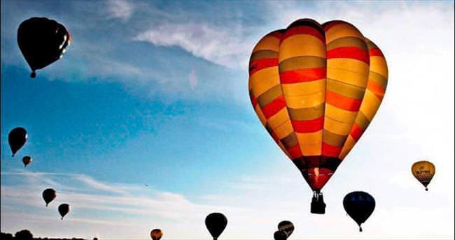 Balon festivaline 300 bin ziyaretçi