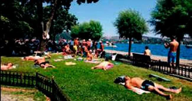 Aşiyan Parkı 'Aşiyan Beach' oldu