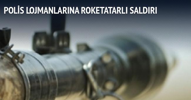 Polis lojmanlarına roketatarlı saldırı