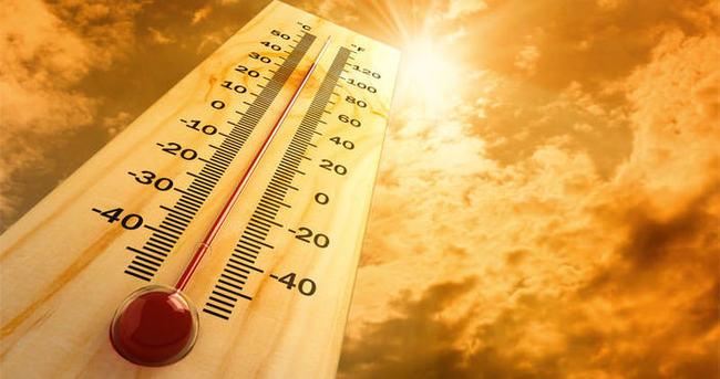 Sıcaklık mevsim normallerinin 8 derece üzerinde