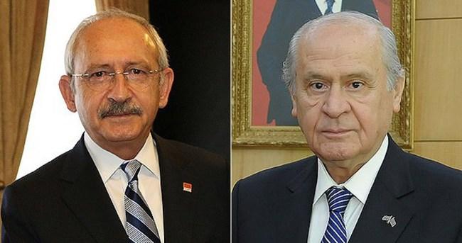 Kılıçdaroğlu ve Bahçeli'ye terörle mücadele brifingi
