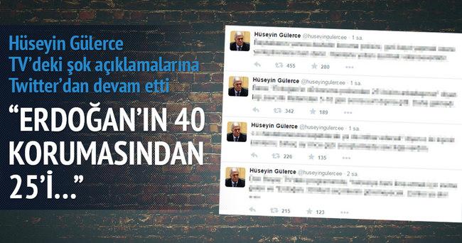 Erdoğan'ın 40 korumasından 25'i Fetullahçıydı