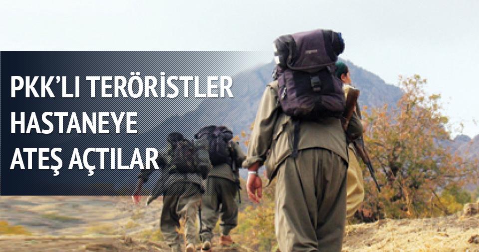 PKK'lı teröristler hastaneye ateş açtı