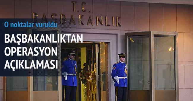 PKK sığınakları vuruldu