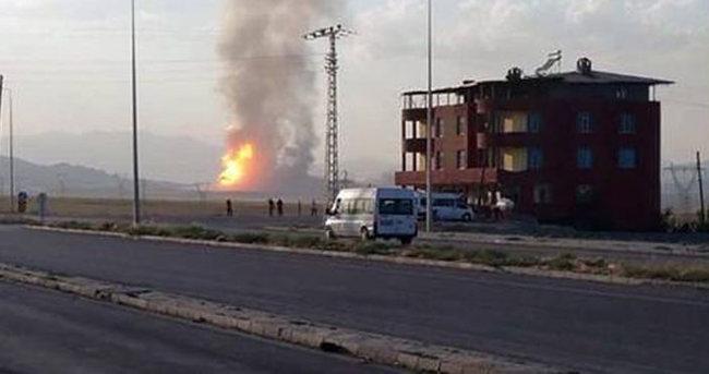 Doğubayazıt'ta doğalgaz boru hattına saldırı