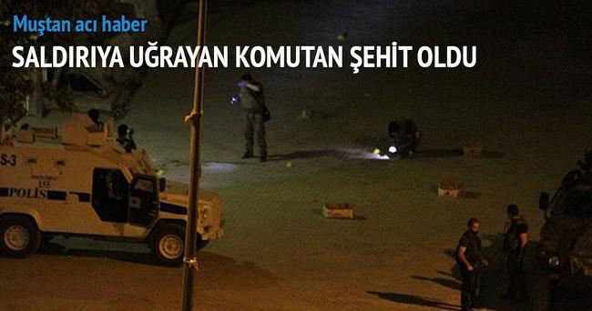 Jandarma ilçe komutanına silahlı saldırı