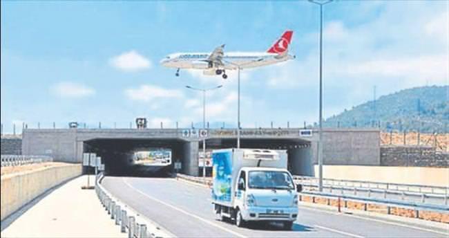 Gazipaşa Havalimanı 500 metre uzatılıyor