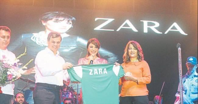 Anamurlular Zara'yla festivalde coştu