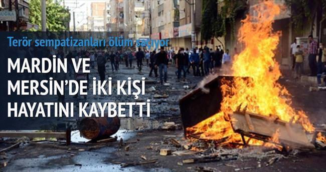 Mardin ve Mersin'de 2 ölüm daha