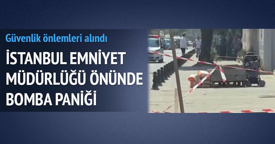 İstanbul Emniyeti'nde bomba alarmı