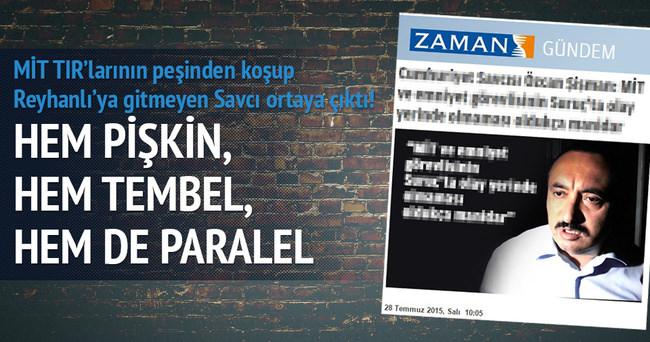 MİT TIR'larının peşinden koşup Reyhanlı'ya gitmeyen Savcı ortaya çıktı!