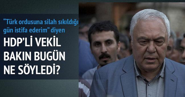 HDP'li vekil çark etti