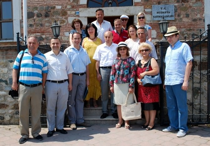 Bulgaristanlı Gazeteciler Mudanya'da