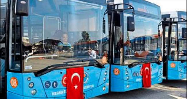 Yeni otobüsler filoya katıldı