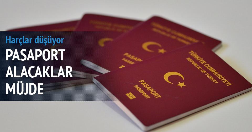 Pasaport harçları düşüyor mu?